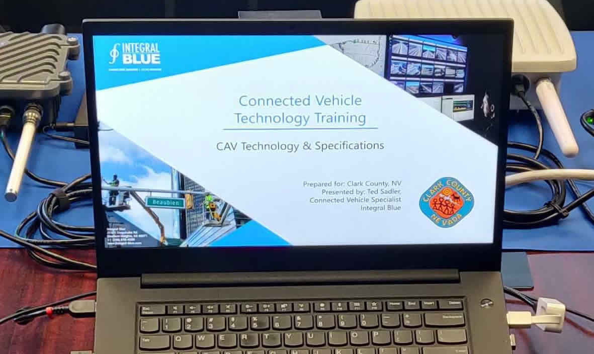 Connected Vehicle Training for the City of Las Vegas, Nevada